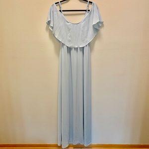 Light blue dress, size M, LIKE NEW